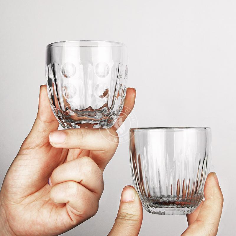 法国LA ROCHERE4件套迷你意式浓缩咖啡expresso杯手冲单品短笛杯