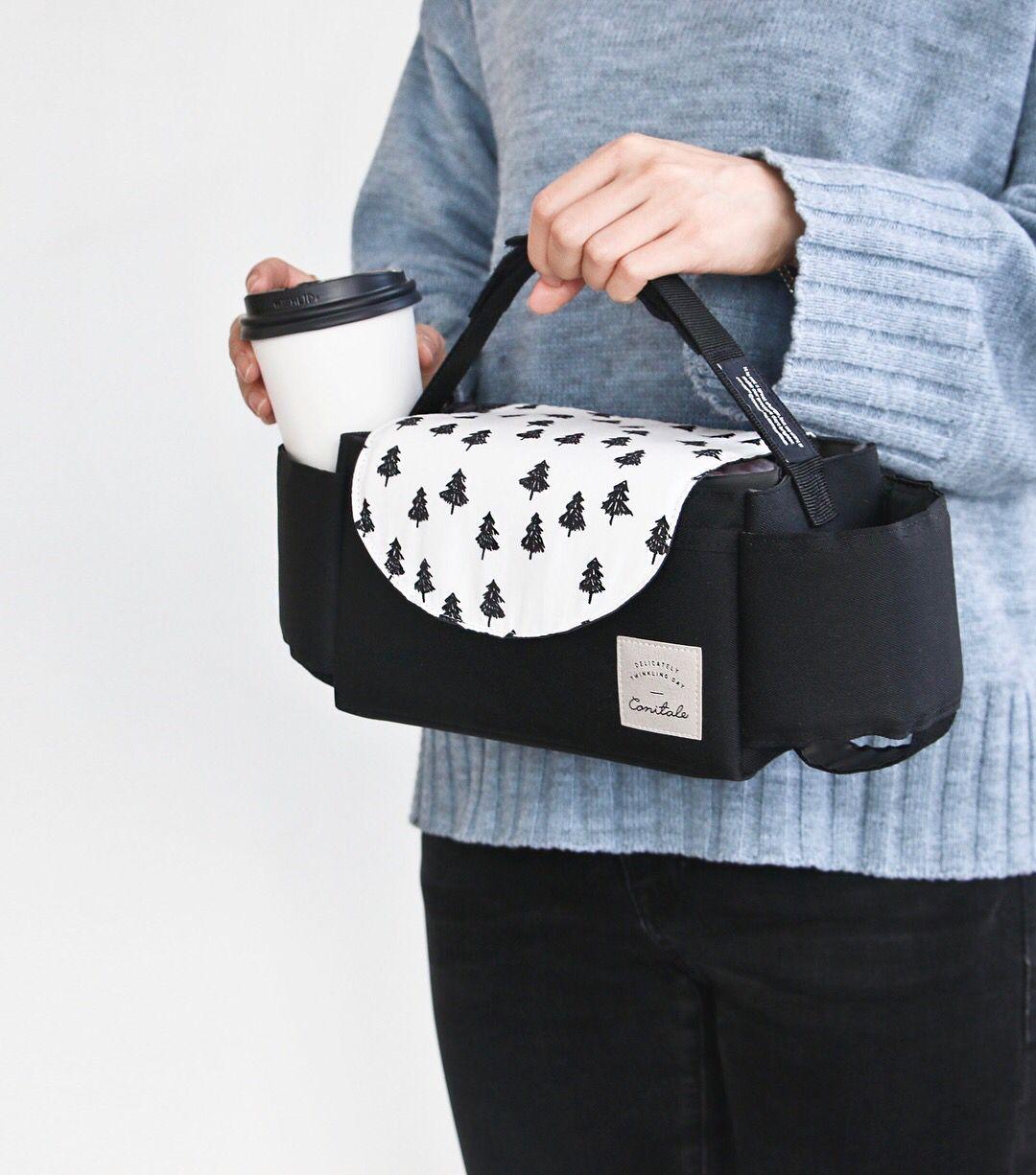 新款婴儿童推车挂包大容量bb挂钩挂袋配件收纳奶瓶储物袋推车通用
