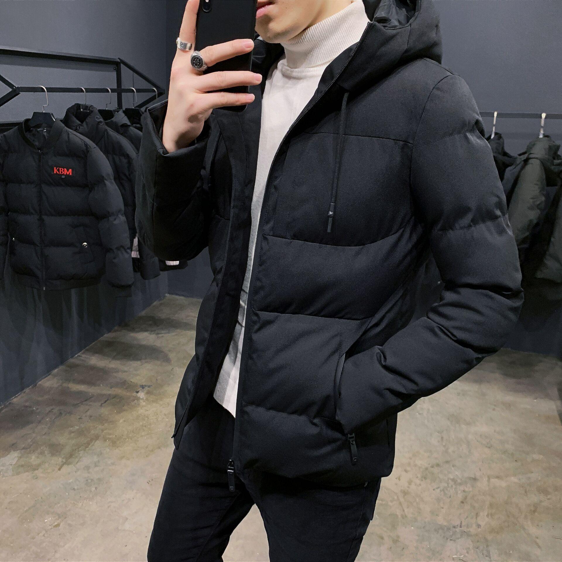 棉衣男士加厚外套冬季2019新款冬装羽绒棉服韩版短款棉袄潮流男装