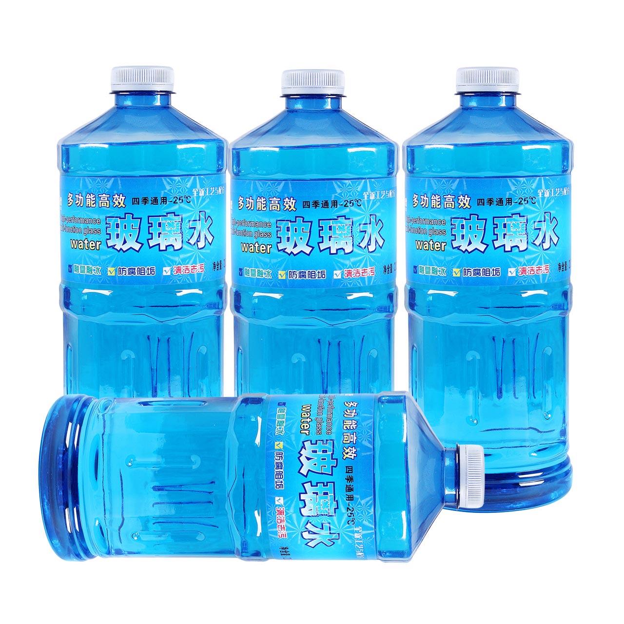中德4桶汽车玻璃水汽车用雨刮水玻璃液非浓缩雨刷精夏季四季通用
