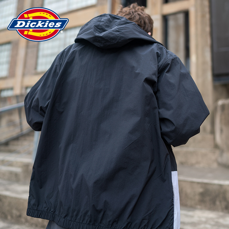 dickies拼接印花夹克袖口薄外套