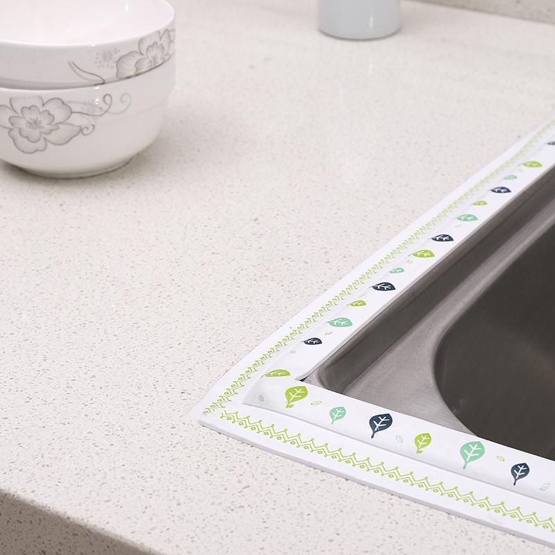 厨房防霉防水胶带厨卫水槽缝隙填补美缝贴马桶墙角线贴密封条胶条