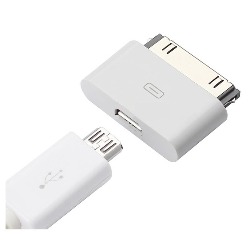 iphone4S数据线转换头安卓4s转接头ipad3充电连接线ipad 2转换器