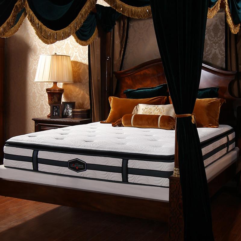 乳胶床垫1.8m床泰国纯天然 弹簧定做1.5米加厚软硬两用席梦思