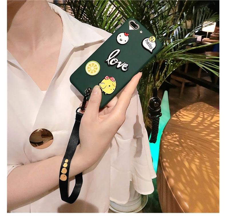 卡通风苹果iphonexsmax小米8vivox21华为6s78plus手机壳oppor15女