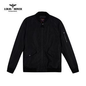 LOUIS ROYER利蜂秋冬外套新款男装时尚棒球领休闲棉衣服MF721707