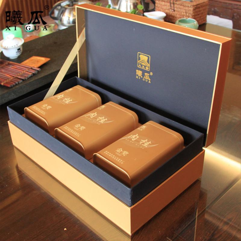 曦瓜金奖肉桂礼盒装 正岩武夷岩茶乌龙茶 武夷山大红袍茶叶