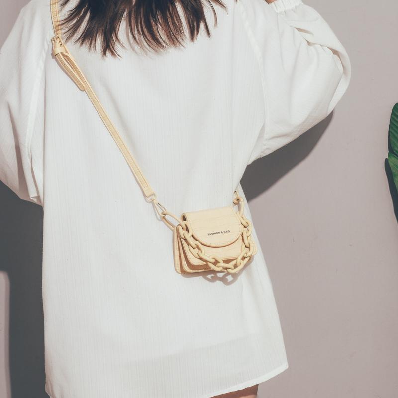 夏天mini小包包女包新款2020网红时尚斜挎包女百搭ins单肩链条包