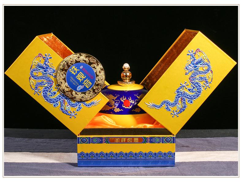 吉祥如意安溪铁观音礼盒 乌龙茶茶叶高端礼盒装 送礼图片