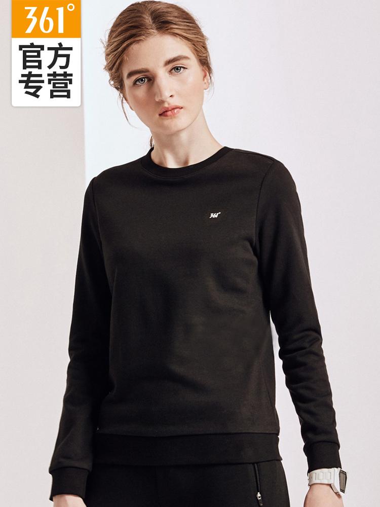 361卫衣女2018新款长袖T恤韩版361度秋冬季新款套头运动短款棉