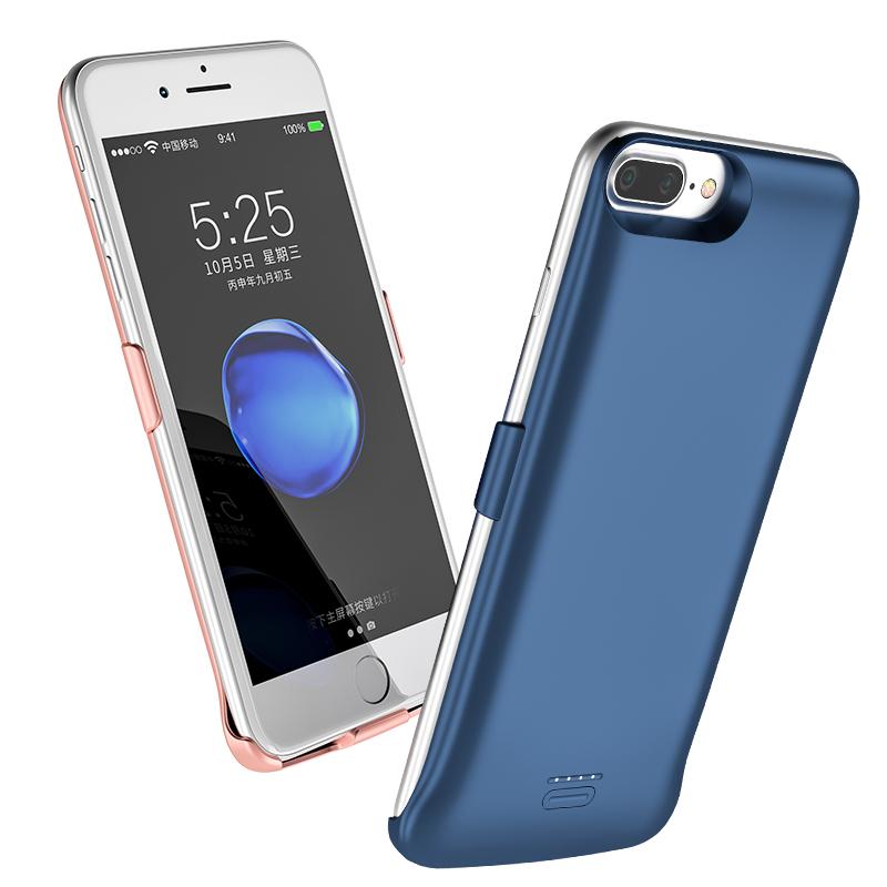 苹果背夹充电宝iPhone7夹背式7plus背夹电池8p专用X大容量超薄XR背甲xs max手机壳无线充电器6s一体充轻薄式6