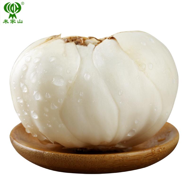 米家山兰州新鲜甜百合500克农家食用生白合甘肃特产非特级百合干