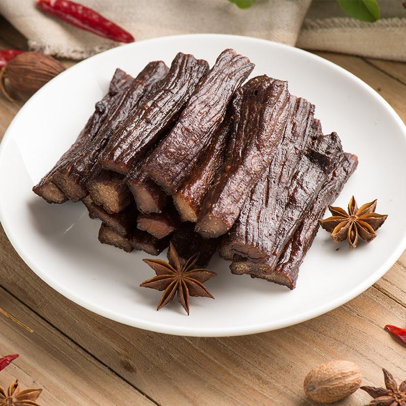 牛肉干内蒙古草原牛肉干风干牛肉干手撕牛肉干条包邮特价零食200