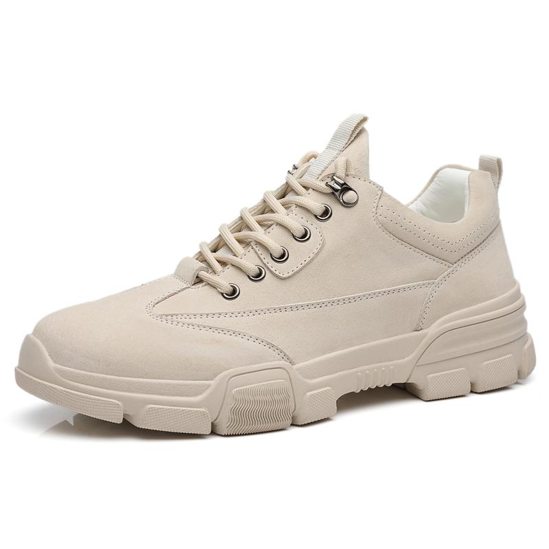 男鞋冬季2019新款老爹运动潮鞋男休闲鞋子皮鞋韩版板鞋百搭马丁靴