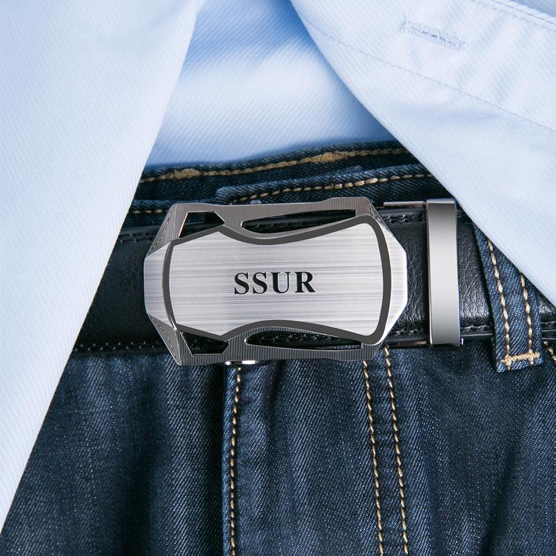男士真皮皮带腰带自动扣裤带牛皮正品中青年商务韩潮休闲时尚皮带