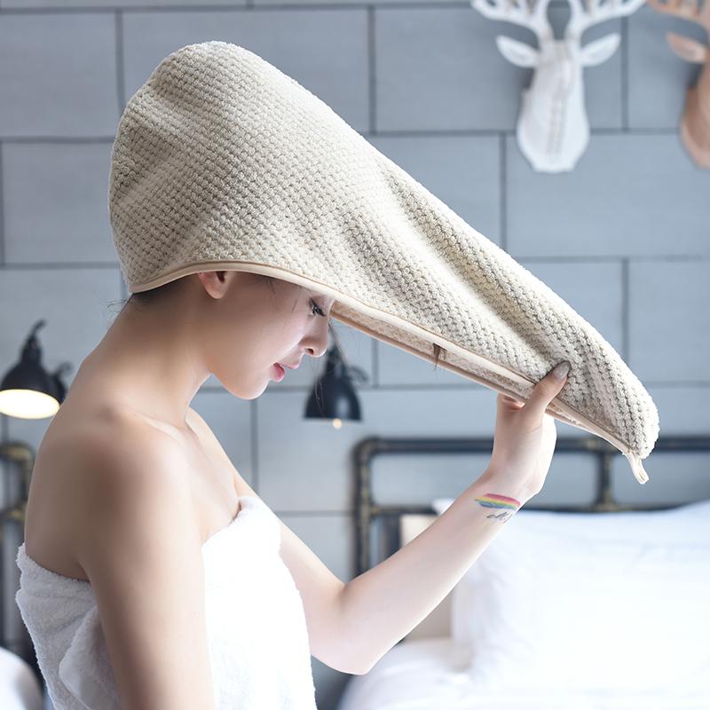 抖音同款干发帽女吸水速干加厚韩式网红超强可爱卡通浴帽包头巾