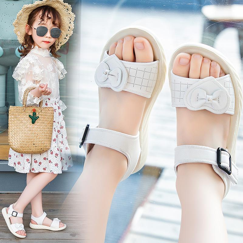 女童公主童鞋2020夏季新款软底儿童韩版沙滩鞋宝宝时尚洋气鞋子女