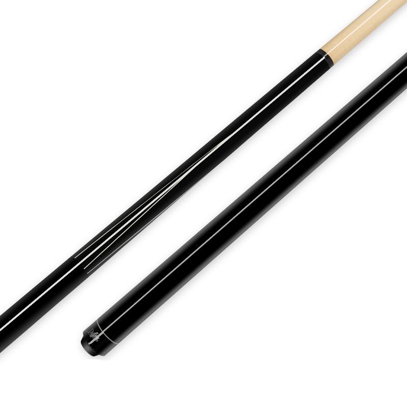达芬尼台球杆大头杆中式黑八九球杆入门级球杆花式美式桌球杆正品