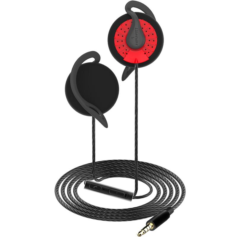 解放者 G2耳机挂耳式耳挂式有线男女通用耳麦蓝牙头戴式运动低音