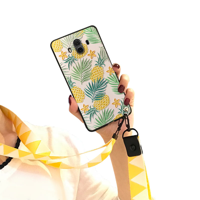 抖��b�9�yh�y�_鑫魔王华为mate10手机壳10pro卡通硅胶套9个性8潮款pro抖音套lybl