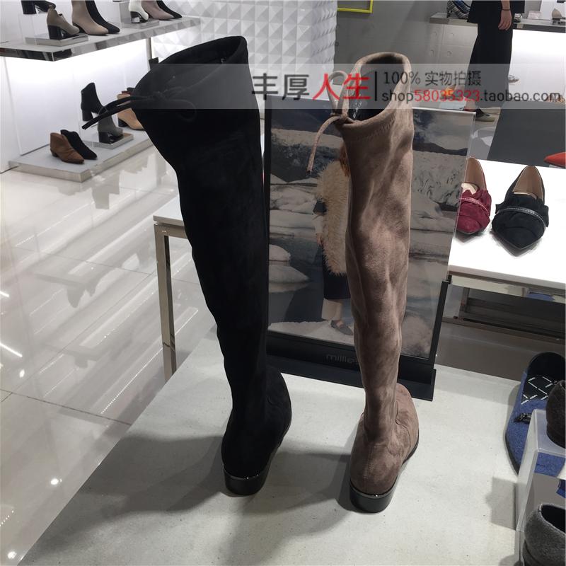 66811 新款冬款女鞋女靴过膝高靴女长靴 2019 妙丽 s Millie 专柜正品