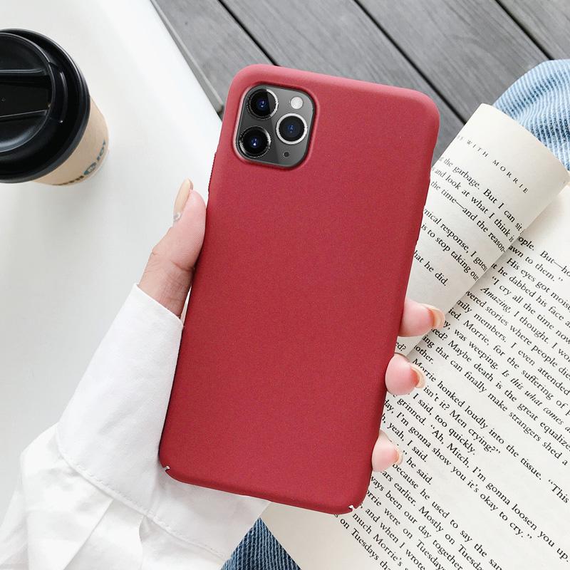苹果11手机壳磨砂ipnone11promax保护套苹果11pro硬壳11promax全包ip11防摔新潮男女款iphone超薄个性创意