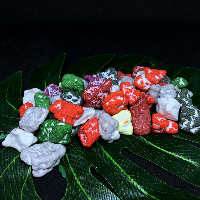 酒店摆盘装饰食用巧克力石头盘饰盘式书法垫纸意境图片
