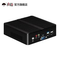mini mini host quad core j1900 home office micro computer embedded industrial computer dual network double string fanless minipc industrial linux ຂະຫນາດນ້ອຍເຈົ້າພາບອຸດສາຫະກໍາຄອມພິວເຕີ n2815
