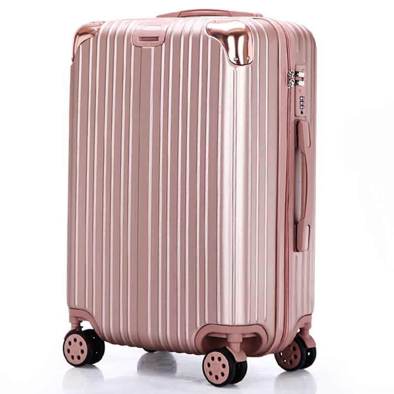 拉杆箱旅行箱学生密码箱包韩版小清新万向轮潮男女网红行李箱ins