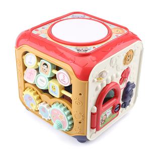 宝宝手拍鼓婴儿玩具儿童音乐拍拍鼓六面体早教益智充电0-1岁3-6月