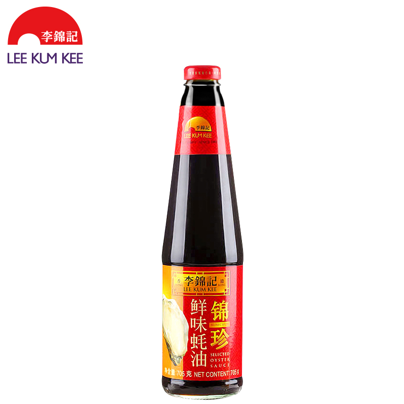 李锦记锦珍火锅705g/瓶蚝油鸡翅鲜味蘸料炒菜剪精品膀多大合适图片