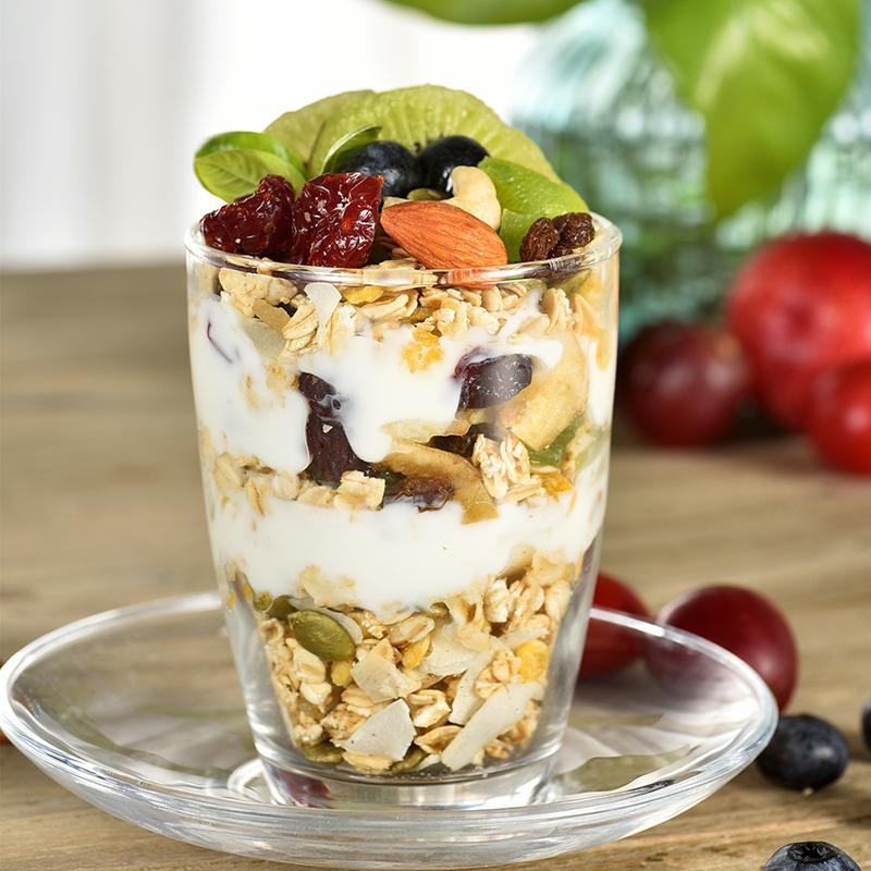烘焙水果坚果麦片即食营养早餐懒人食品冲饮速食谷物干吃燕麦片