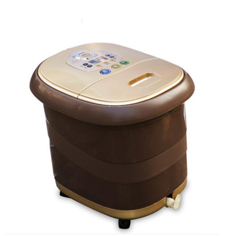 曼森泡脚桶足浴盆家用按摩加热恒温洗脚盆送爸妈礼物实用礼品