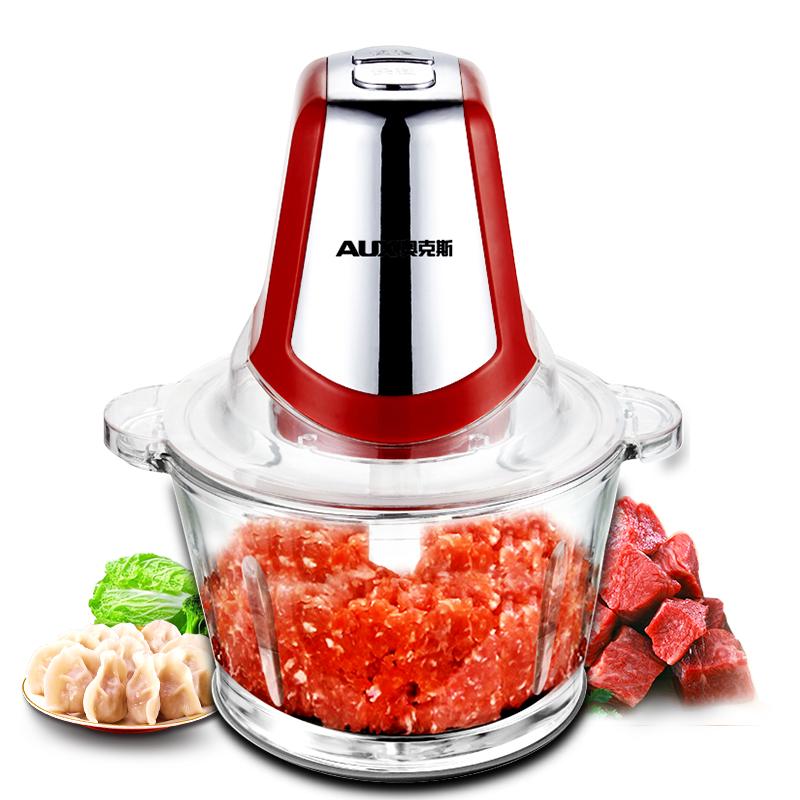 奥克斯绞肉机家用电动小型多功能碎肉打绞菜蒜蓉器碎菜搅肉绞馅机