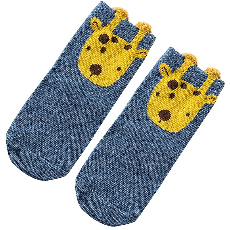 caramella儿童袜子纯棉宝宝袜春秋薄款短筒袜男女童袜中筒婴儿袜