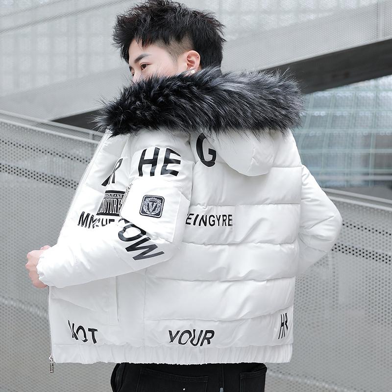 青少年冬季棉衣男外套高中初中学生羽绒棉服潮流帅气冬装加厚棉袄