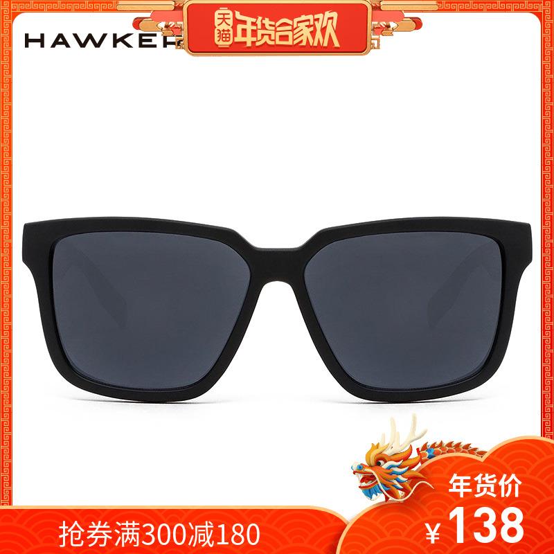 Hawkers墨镜男士潮人太阳镜女圆脸tr90眼镜框舒适防紫外线MOT01AF