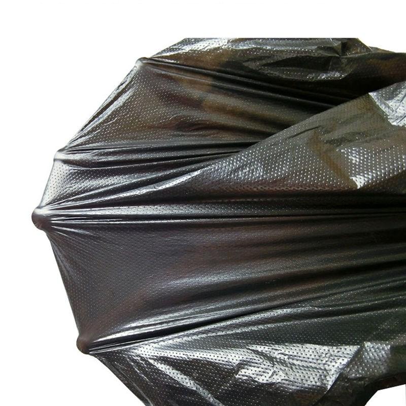 垃圾袋加厚黑色中大垃圾袋家用办公加厚背心式塑料袋垃圾袋手提式