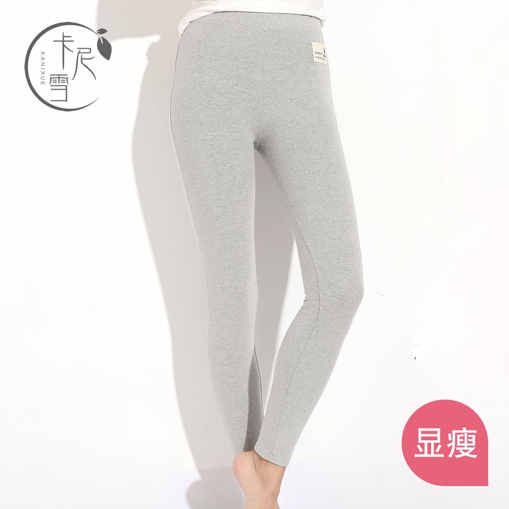 新款磨毛打底裤女修身显瘦九分小脚裤紧身外穿内搭全棉加厚铅笔裤