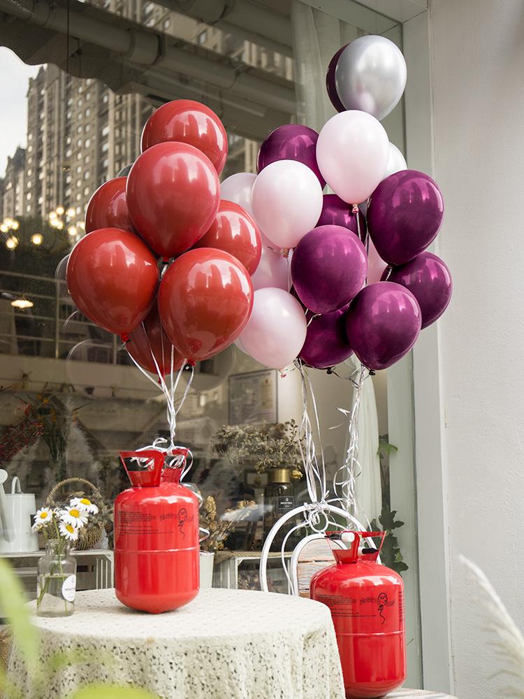 气球装饰结婚庆网红派对加厚气球浪漫婚房新房装饰布置用品图片