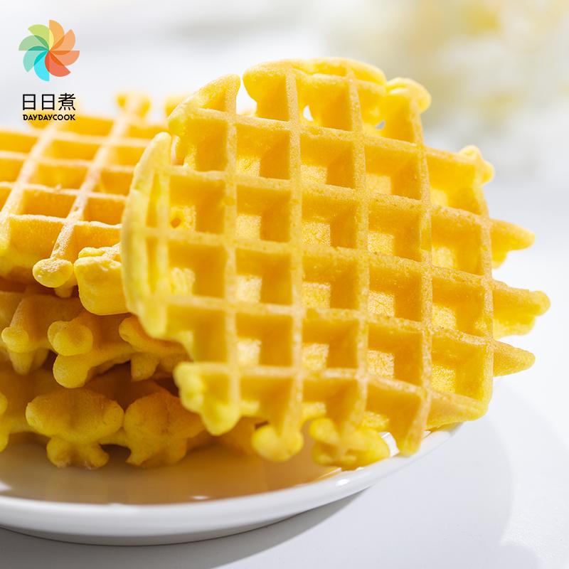 日日煮原味软华夫饼营养早餐手撕面包蛋糕网红小零食品整箱450g