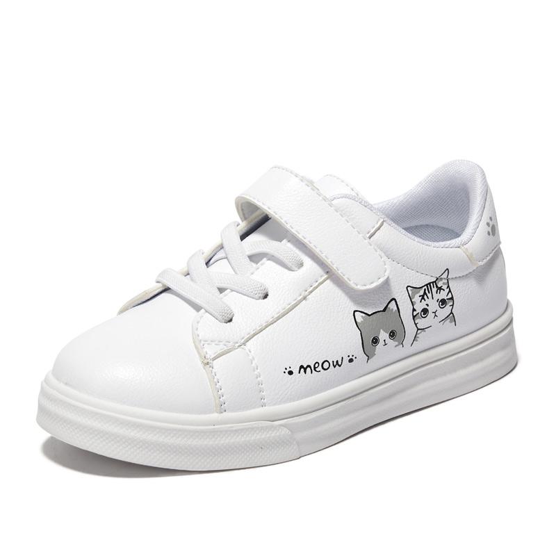 女童小白鞋2019新款韩版春秋季儿童运动鞋子女孩休闲鞋百搭童鞋潮