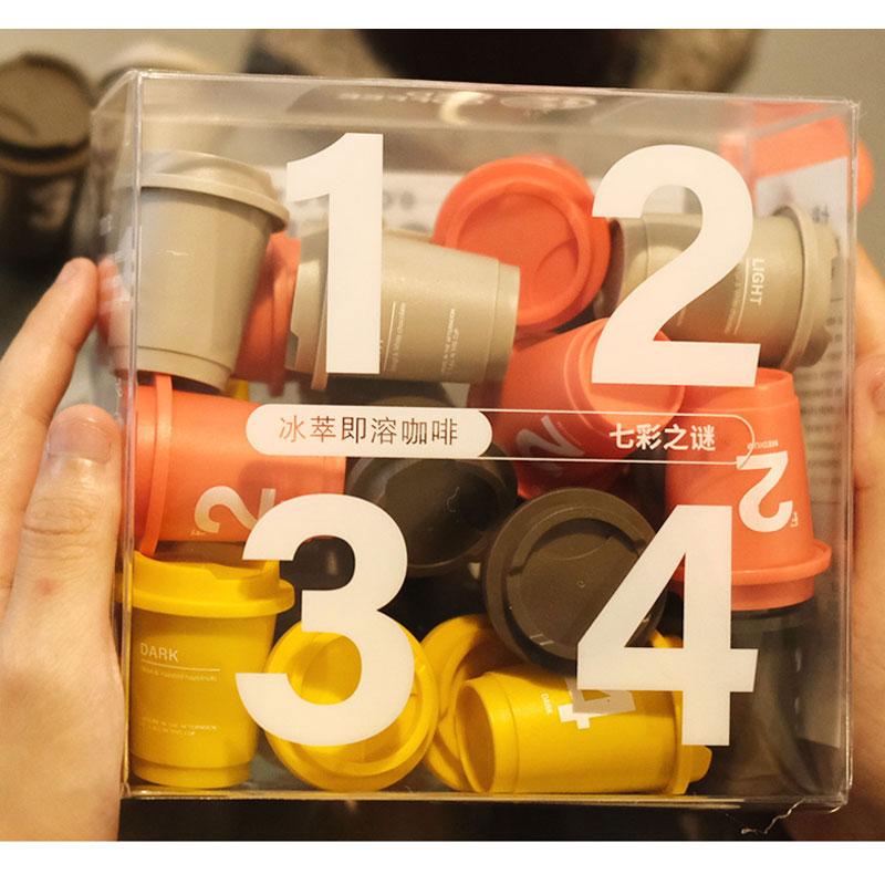 24颗*3g 云南普洱超既溶冷萃冻干咖啡速溶美式胶囊黑咖啡粉
