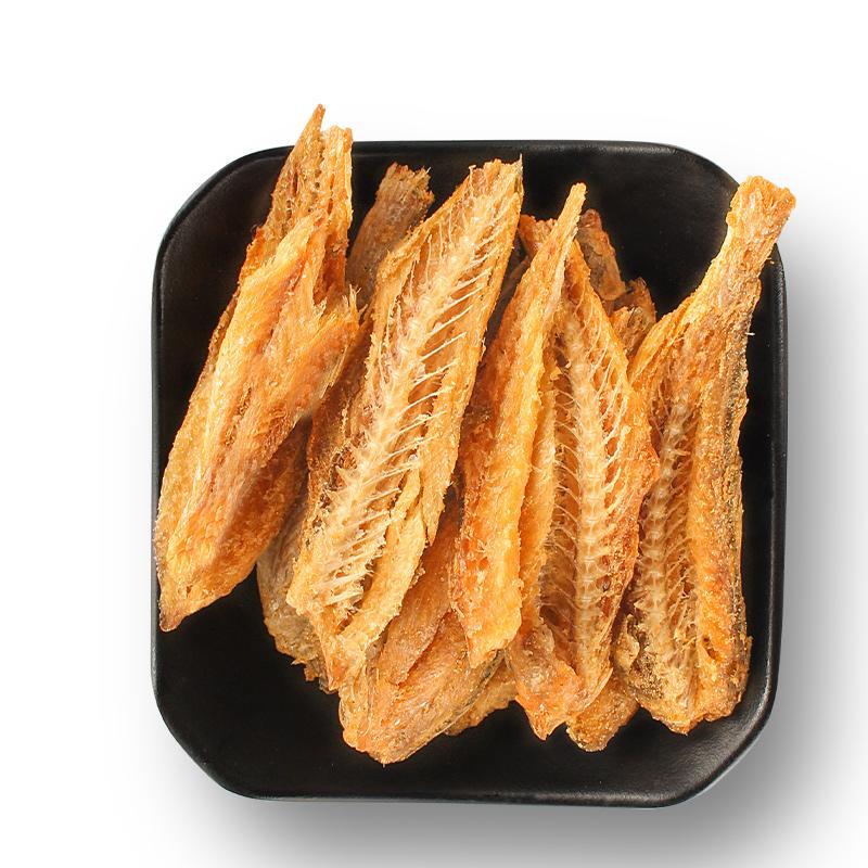 咚淘郎香酥小黄鱼干干货零食即食香烤香酥黄花鱼干小鱼仔海鲜小吃