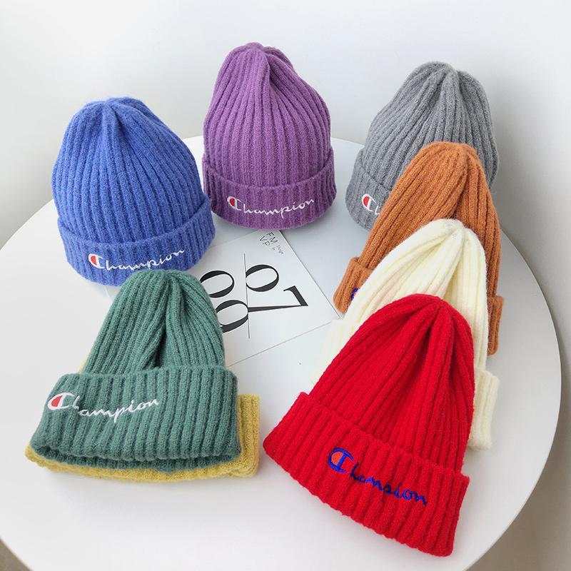 韩版百搭时尚可爱儿童男女中大童学生针织帽子保暖毛线帽秋冬潮