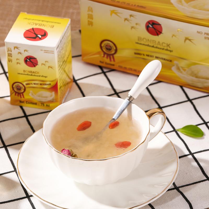 泰国bonback乌鸡2.8%即食燕窝45ml*6瓶