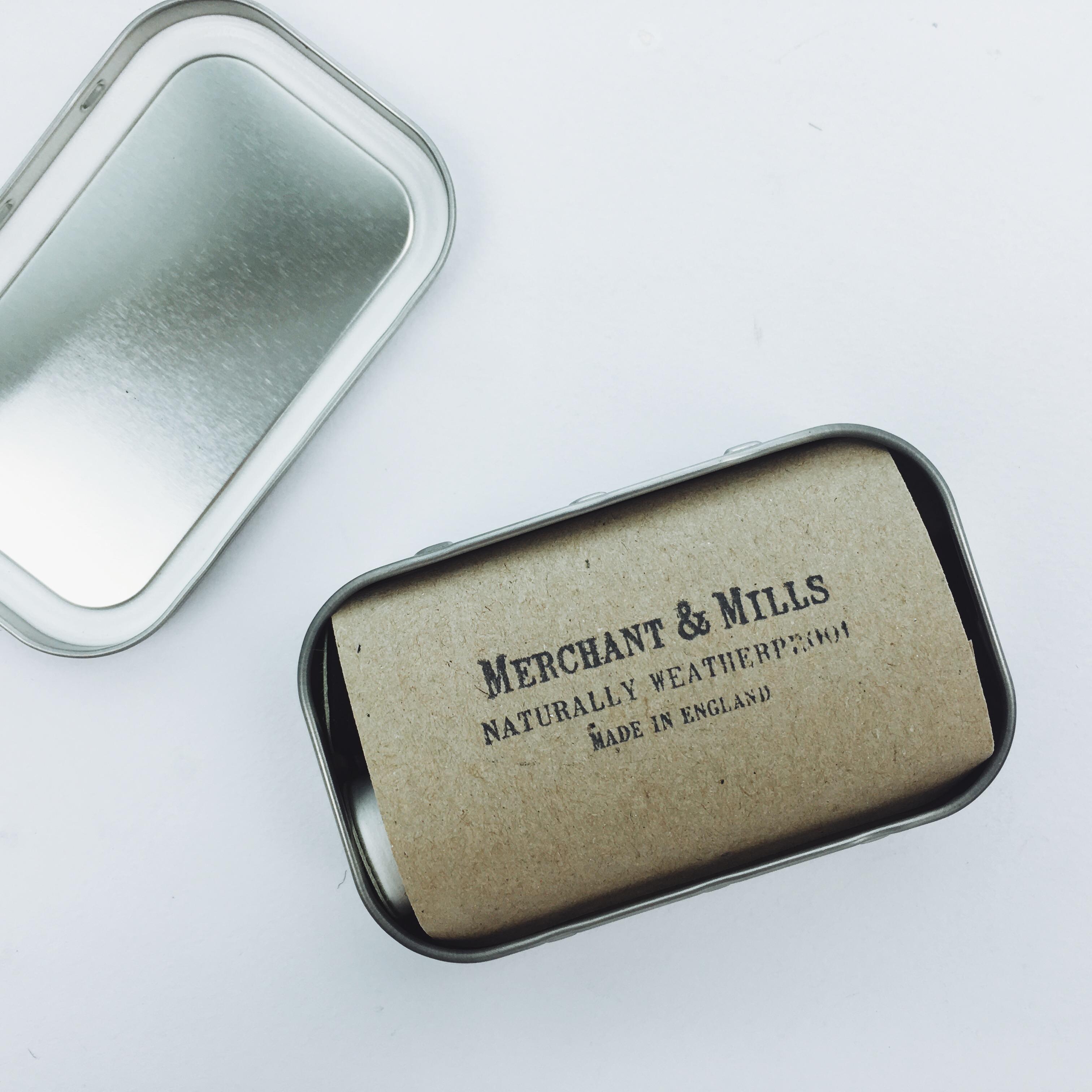 英国merchantmills便携式缝纫修理包裁缝小剪刀针线套装工具