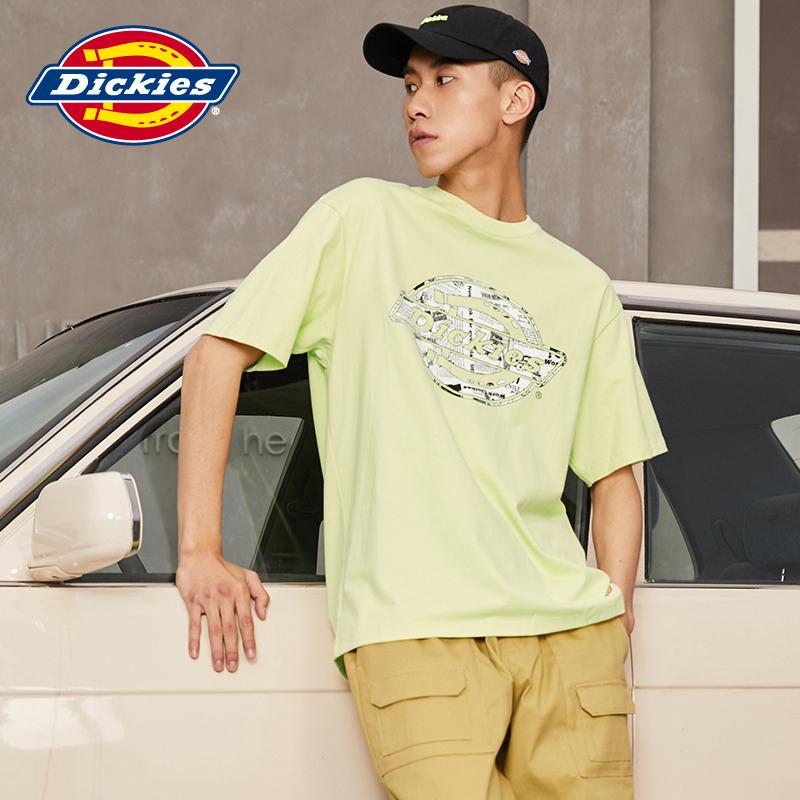 DickiesLOGO印花男式短袖T恤 夏季新品棉舒适好搭短Tee 8737