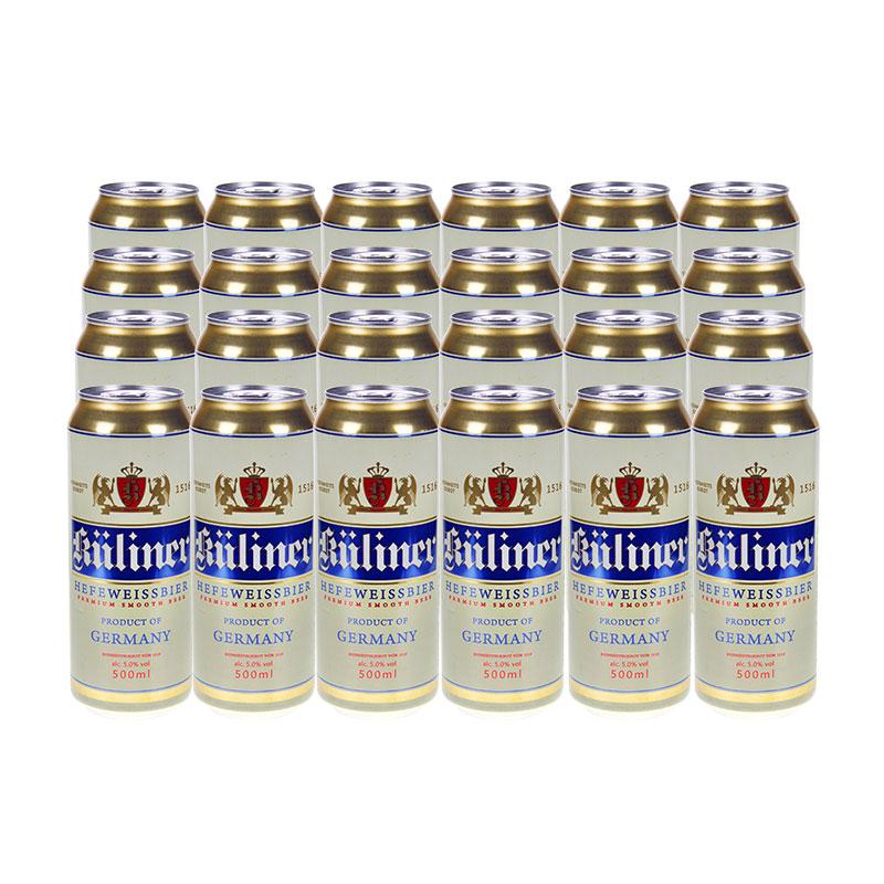 古立特德国原装进口小麦啤酒500mL*24/箱  麦芽酿造