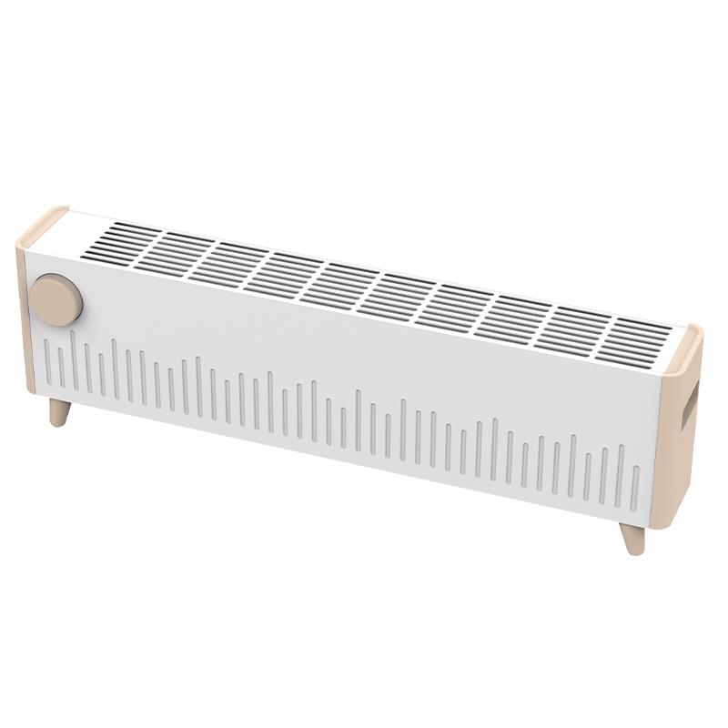 先锋踢脚线取暖器暖风机家用防水居浴两用速热电热电暖气T12